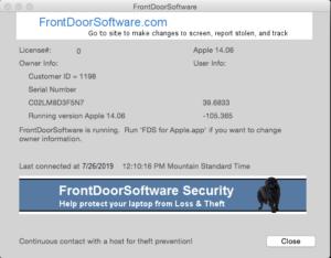 FAQ Windows and Mac | Front Door Software